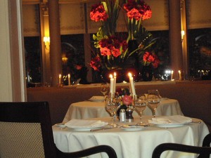Dinner at Le Laurent Paris France