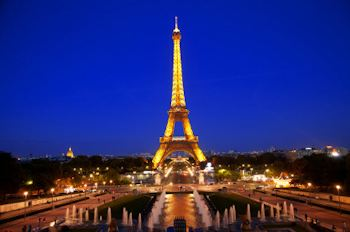 Arriving in Paris