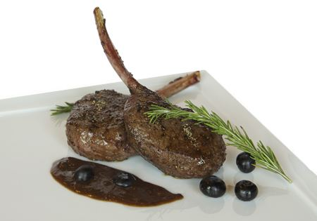 Dallas Wild Game Menus - Elk Chops