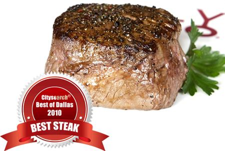 Y.O. Ranch Steakhouse Wins Best Steak in Dallas TX