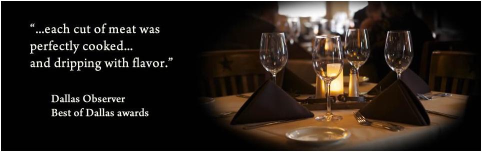 Dallas Best Restaurant Observer Review