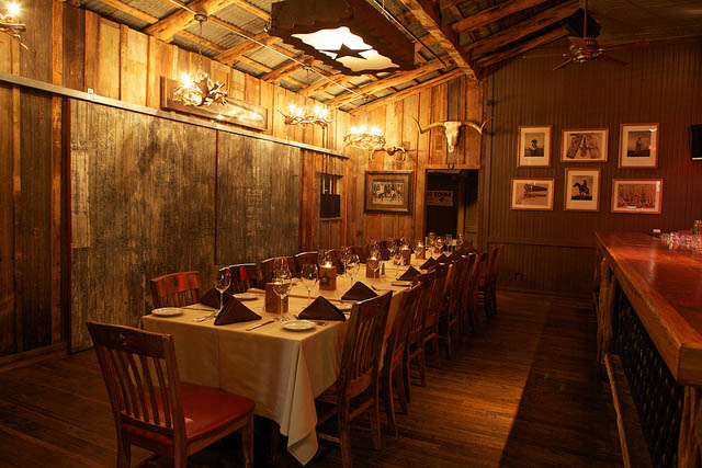 Private dining dallas steakhouse party rooms