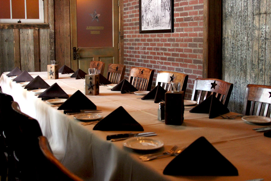 YO Dallas Steakhouse - Private Dining - The Windmill Room