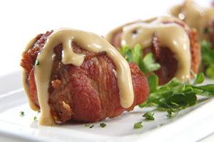 Y.O. Ranch Steakhouse Dallas-Venison Rollups