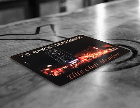 Y.O. Steakhouse Offers Elite Club Membership