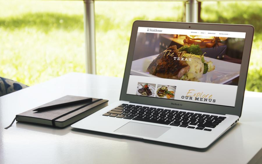 Top Dallas Steakhouse Website Gets a Facelift!