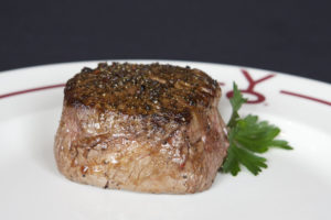 Come enjoy a buffalo filet at Y.O. Ranch Steakhouse in Dallas.